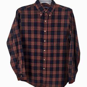 NWOT Pendleton Wool Shirt Button Tartan Red Men M